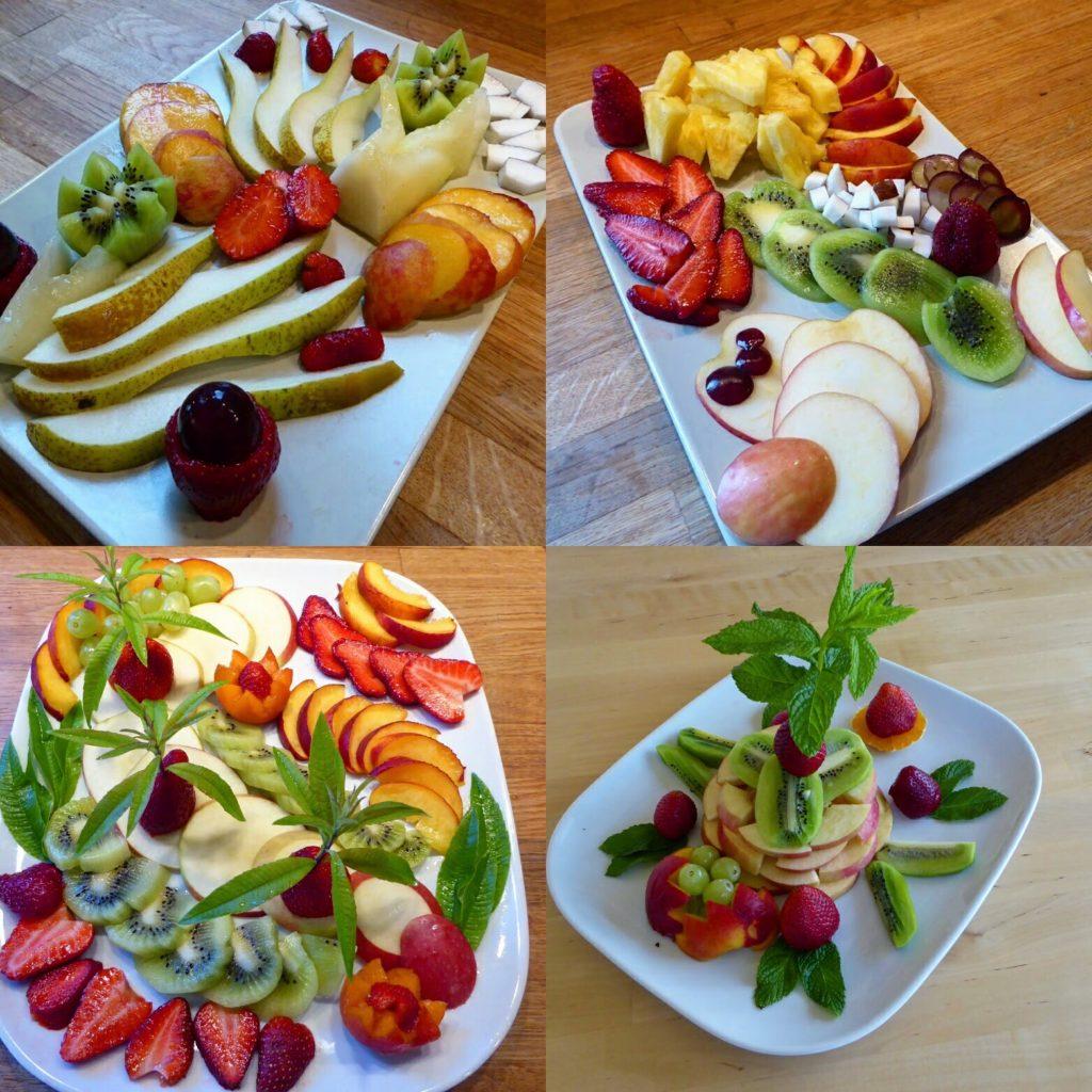 Panokosmos fruit platters