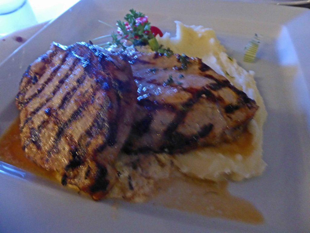 Scrumptious pork fillets at Theodosi Restaurant