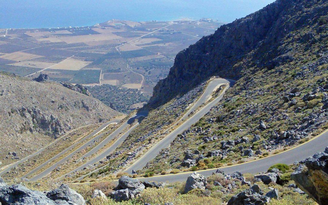 Driving a Hire Car in Crete