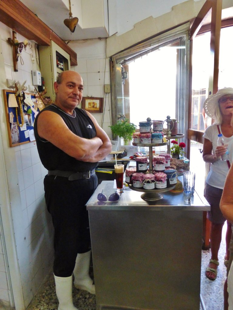 The Butcher at Armenoi - great place to buy yoghurt and Graviera