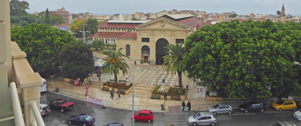 The Agora covered market in Chania