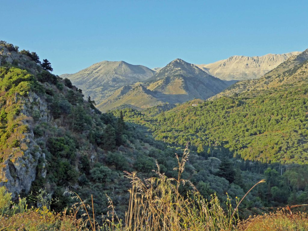 The embrace of the mountains - part of a holiday in the heart of Crete