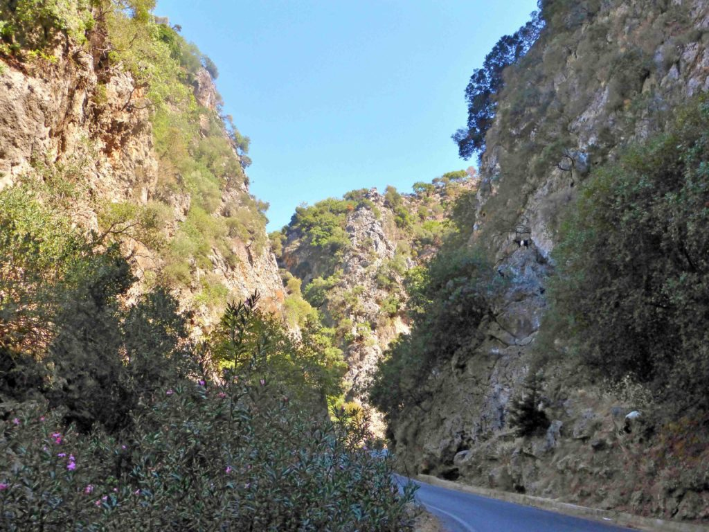 Theriso Gorge - accessible only by car