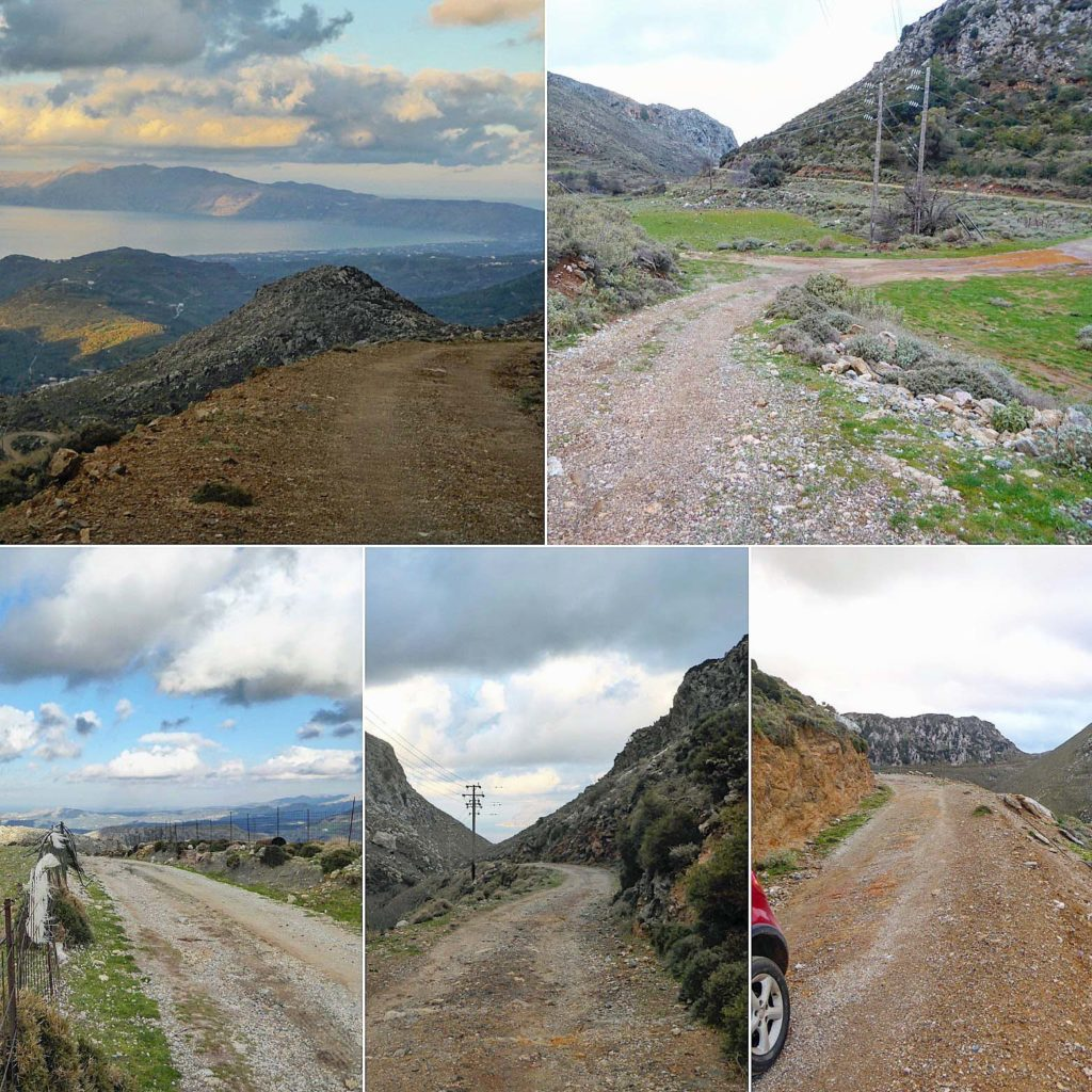 The joys or off road in Crete