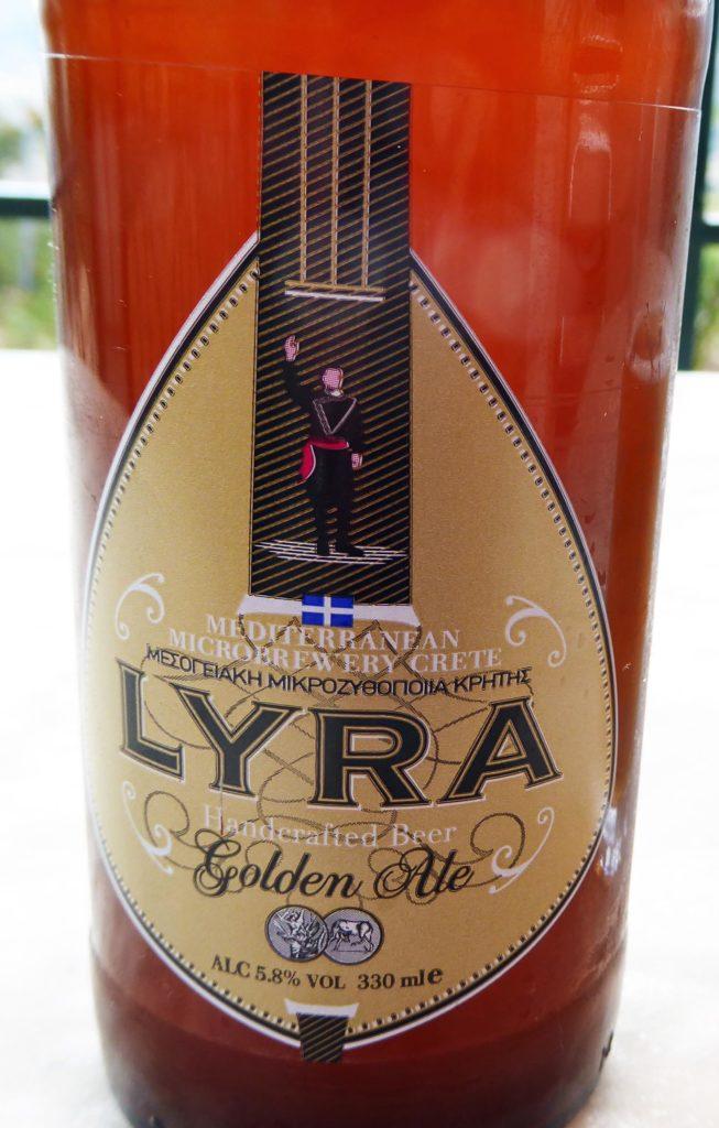Lyra beer label