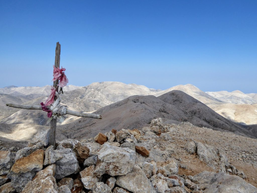 Summit of Pachnes - moonscape