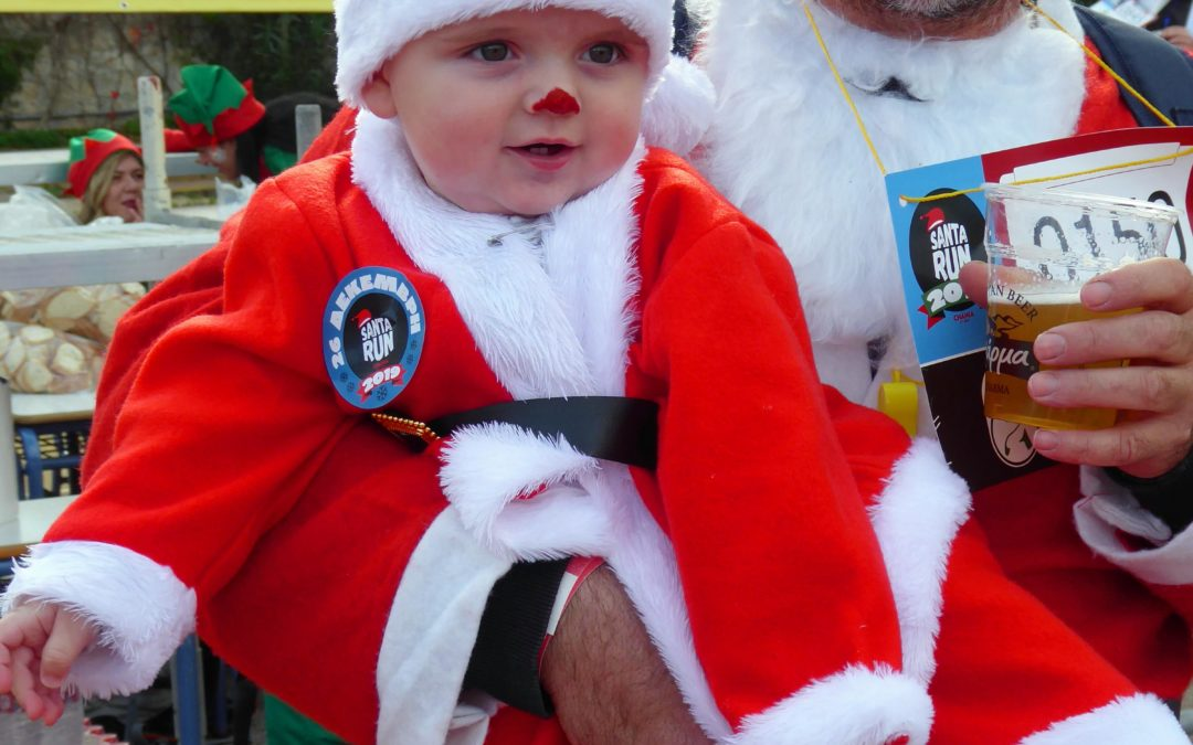 Chania Santa Run for Charity