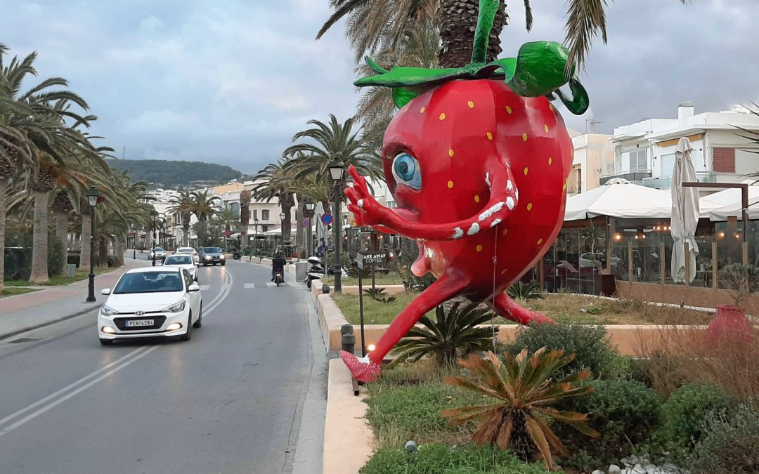 Cretan Carnival – riding the Waves